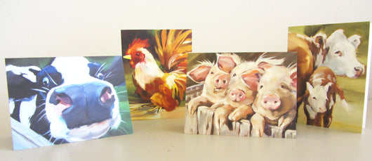 Barnyard Buddies Notecards