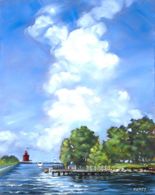Channel View Giclee
