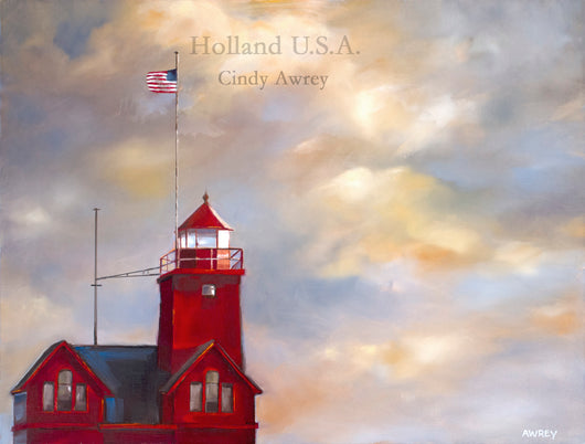 Holland USA Oil Painting