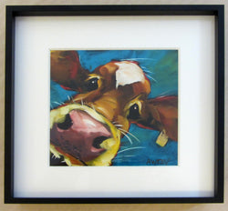In Your Face Mini Giclee Framed
