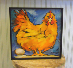 Let Go My Egg-O Giclee Framed