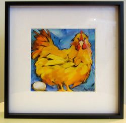 Let Go My Egg-O Mini Framed Giclee