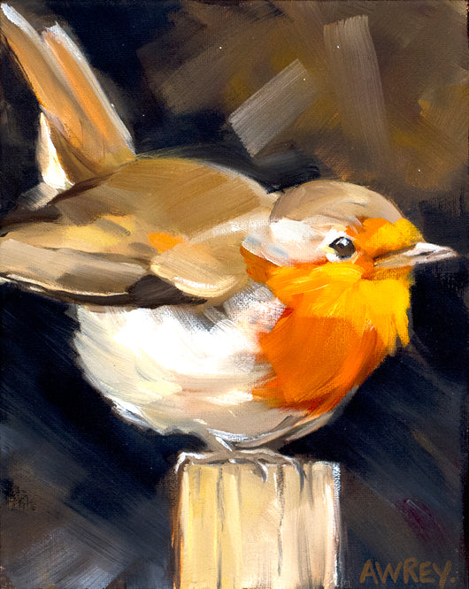 Nuthatch on Post Giclee