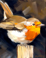 Spring Baltimore Oriole Oil Painting
