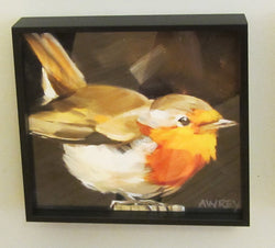 Nuthatch on Post Framed Giclee