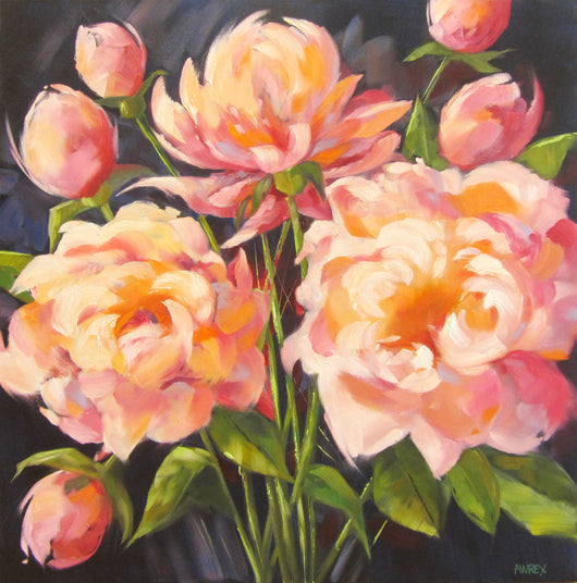 Pretty In Pink Oil Painting