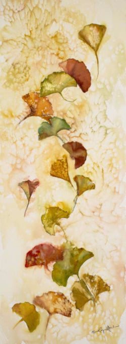 Afternoon Ginkgo Leaves Giclee