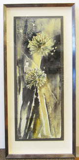 Allium Duet Framed Giclee