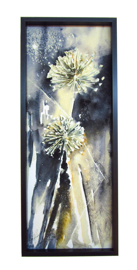 Allium Duet Mini Framed Giclee