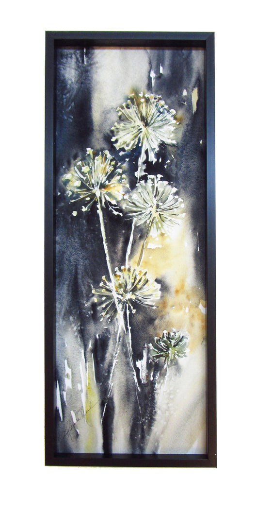 Allium Quintet Mini Framed Giclee