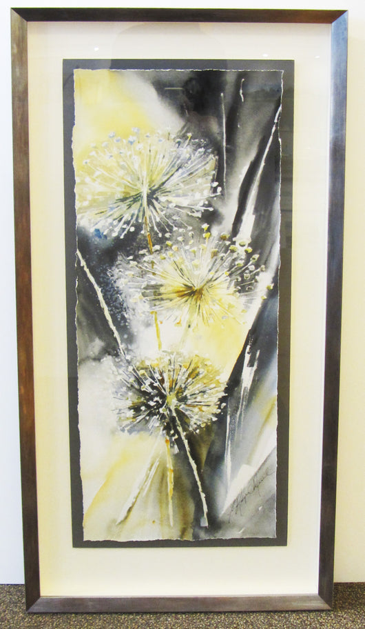 Allium Trio Framed Giclee