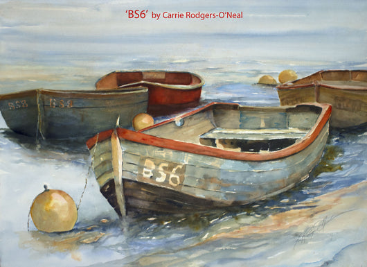 BS6 Rowing Boats Giclee