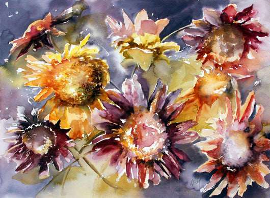 Celebration Sunflowers Giclee