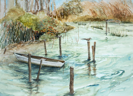 Coastal Wetlands Giclee