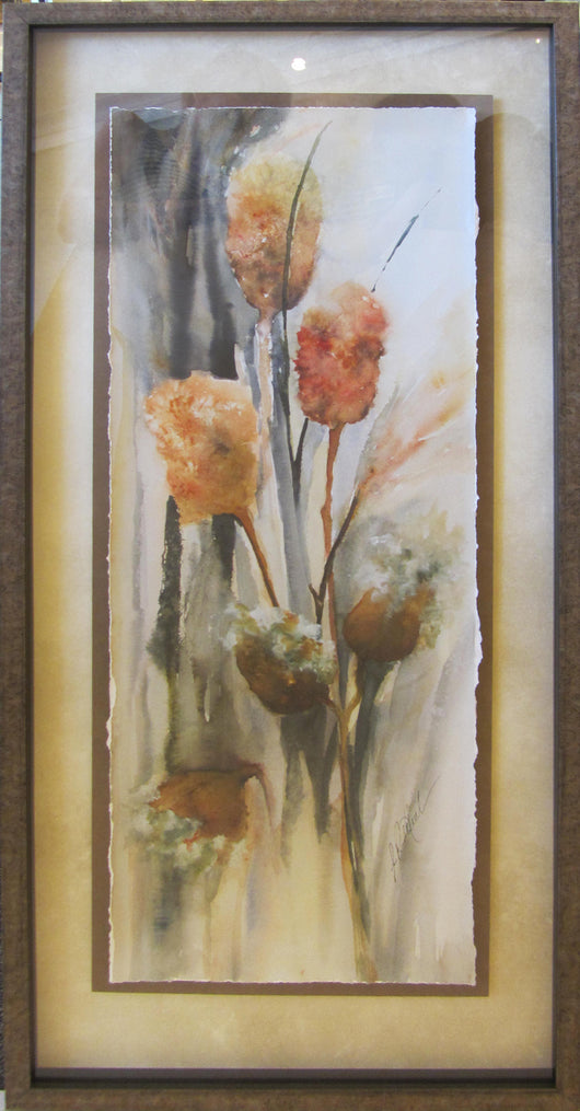 Fall Planting Giclee Framed 'Classic Float'