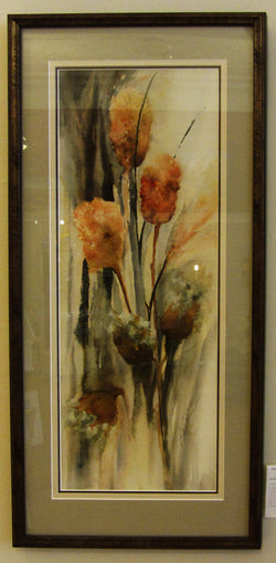 Fall Planting Giclee Framed 'Traditional Grays'