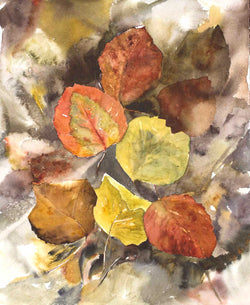 Fallen Leaves Giclee
