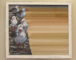 Follow the Leader Rustic Framed Marker Board