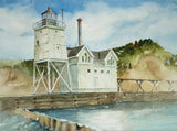 Holland Harbor Light 1907 Giclee