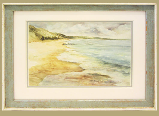 Laketown Surf Reflections Giclee Framed