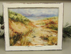 Morning Through The Dune Giclee 'Washed White' Framing