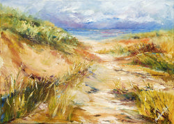Morning Through The Dune Giclee