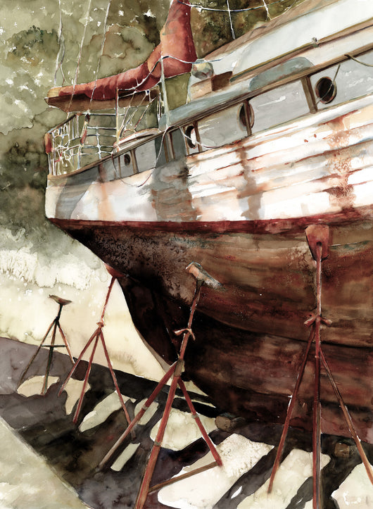 Rough Hull Giclee
