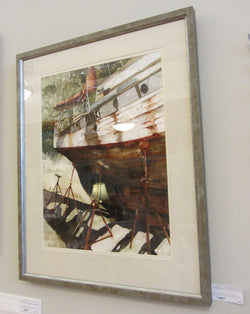Rough Hull Giclee Framed