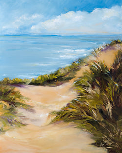 Sandy Path Giclee Matted