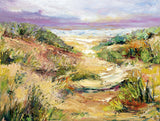 Sunset Through The Dune Giclee