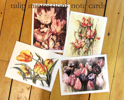 Tulip Impressions Notecards
