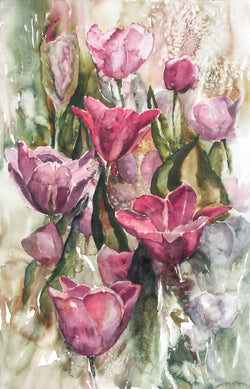 Tulip Impressions Giclee