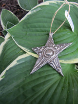 Abstract Angled Star Ornament