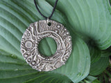 Abstract Circular Pendant