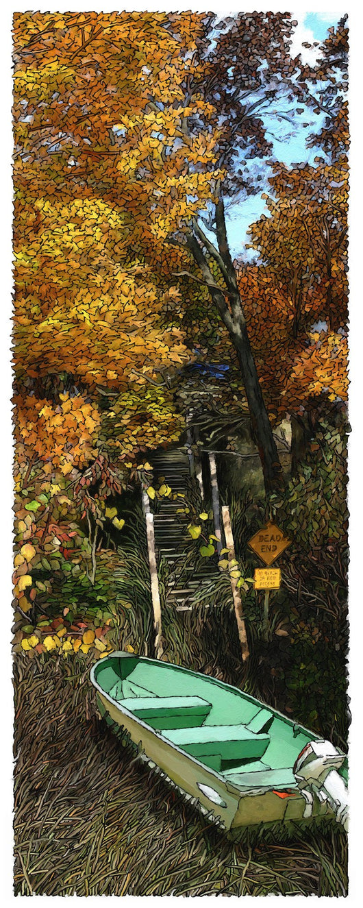 Dead End Giclee