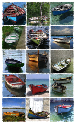 Fifteen Dinghies Giclee