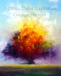 Autumn Color Explosion Oil Painting