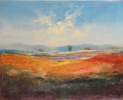 Autumn Fields II Oil Painting