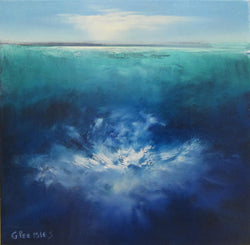 Deep Wake 1 Oil Painting