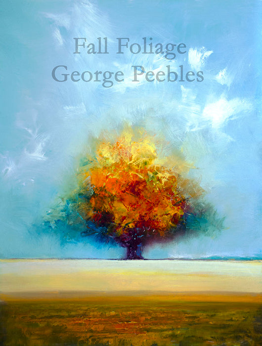 Fall Foliage Oil Painting