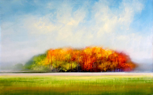 Fall Statement Oil Painting