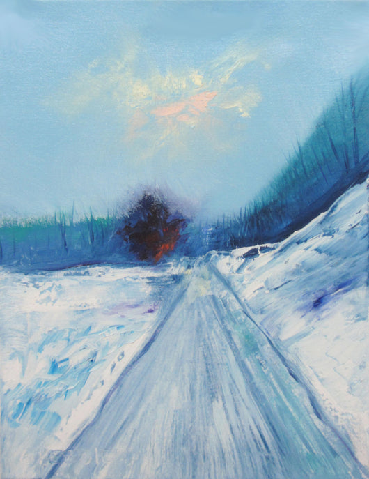 Frost Oil Painting