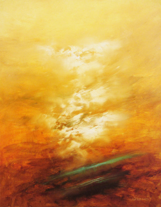 Golden Brilliance Oil Painting
