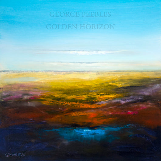 Golden Horizon Oil Painting