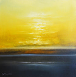 Golden Sky Oil Painting
