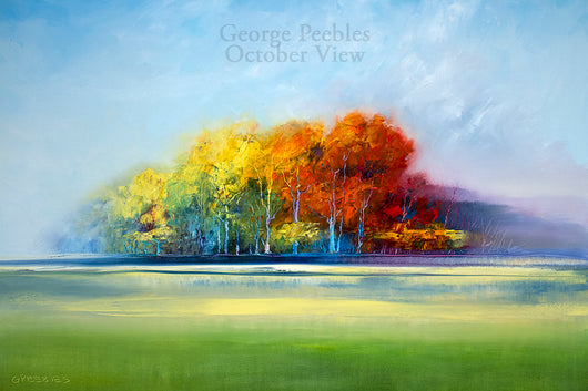 October View Oil Painting