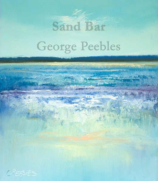 Sand Bar Oil Painting