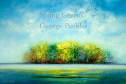 Spring Greens Giclee