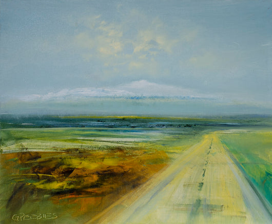 The Long Road Oil Painting