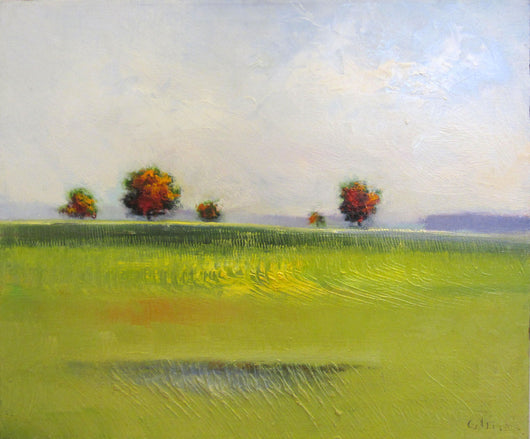 Tree Field II Oil Painting